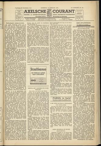 Axelsche Courant 1950-02-18