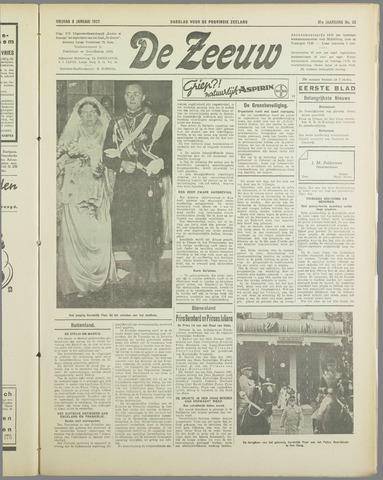 De Zeeuw. Christelijk-historisch nieuwsblad voor Zeeland 1937-01-08