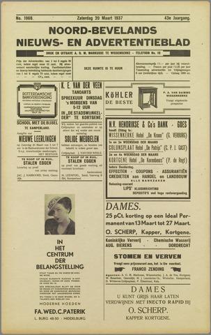 Noord-Bevelands Nieuws- en advertentieblad 1937-03-20