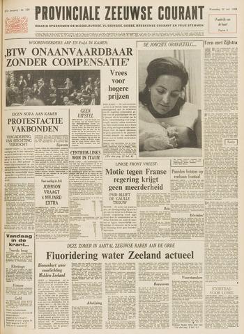 Provinciale Zeeuwse Courant 1968-05-22