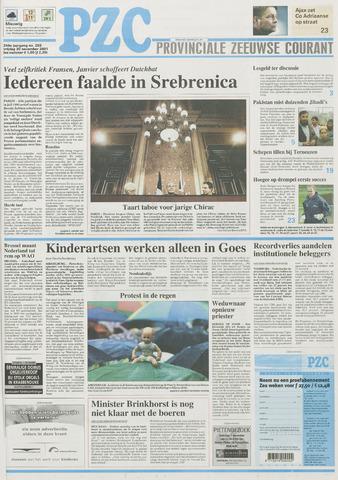 Provinciale Zeeuwse Courant 2001-11-30