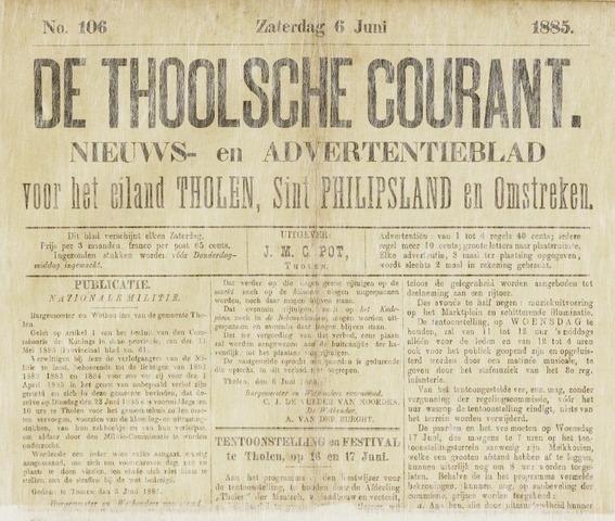 Ierseksche en Thoolsche Courant 1885-06-06
