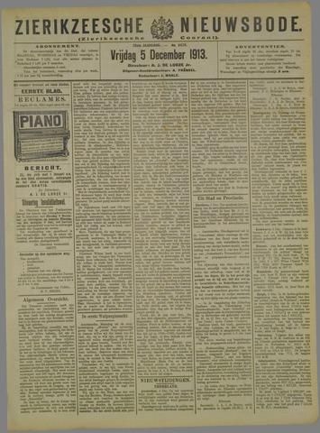 Zierikzeesche Nieuwsbode 1913-12-05