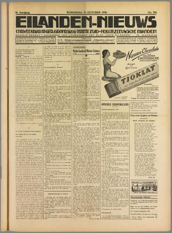 Eilanden-nieuws. Christelijk streekblad op gereformeerde grondslag 1936-10-21