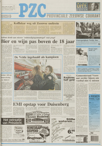Provinciale Zeeuwse Courant 1996-05-15