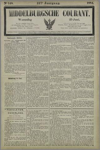 Middelburgsche Courant 1884-06-25
