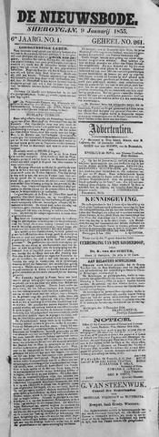 Sheboygan Nieuwsbode 1855