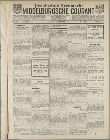 Middelburgsche Courant 1932-10-01