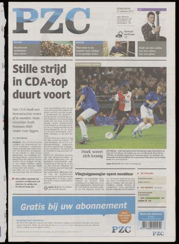 Provinciale Zeeuwse Courant 2013-10-31