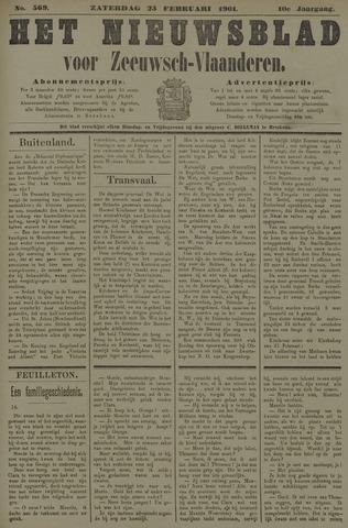 Nieuwsblad voor Zeeuwsch-Vlaanderen 1901-02-23