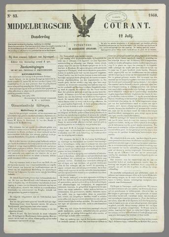 Middelburgsche Courant 1860-07-12