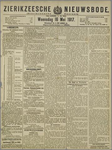 Zierikzeesche Nieuwsbode 1917-05-16