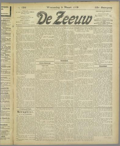 De Zeeuw. Christelijk-historisch nieuwsblad voor Zeeland 1919-03-05