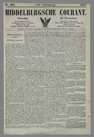 Middelburgsche Courant 1877-11-10