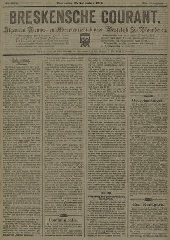 Breskensche Courant 1914-11-25