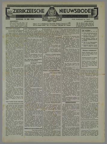 Zierikzeesche Nieuwsbode 1941-05-13