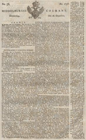 Middelburgsche Courant 1758-12-28