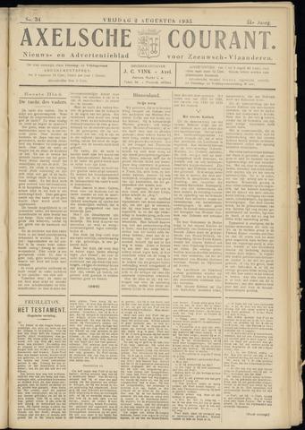Axelsche Courant 1935-08-02
