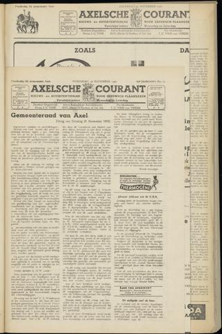 Axelsche Courant 1950-11-22
