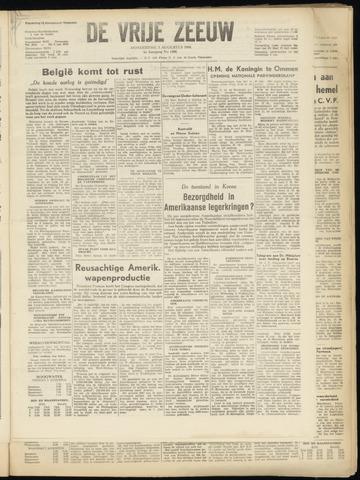 de Vrije Zeeuw 1950-08-03