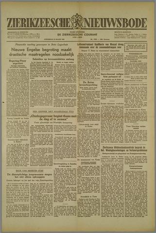 Zierikzeesche Nieuwsbode 1952-03-13