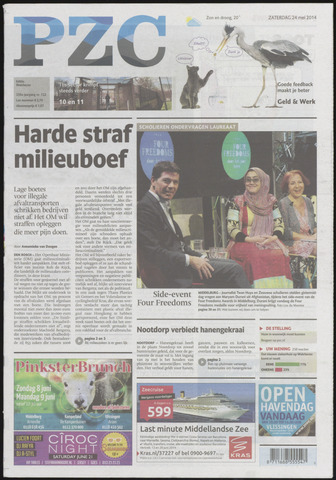 Provinciale Zeeuwse Courant 2014-05-24