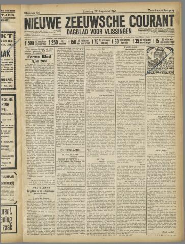 Nieuwe Zeeuwsche Courant 1921-08-27