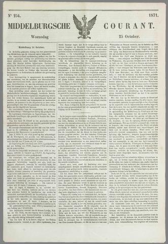 Middelburgsche Courant 1871-10-25