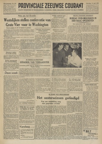 Provinciale Zeeuwse Courant 1951-06-16