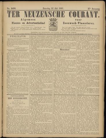 Ter Neuzensche Courant. Algemeen Nieuws- en Advertentieblad voor Zeeuwsch-Vlaanderen / Neuzensche Courant ... (idem) / (Algemeen) nieuws en advertentieblad voor Zeeuwsch-Vlaanderen 1897-07-31