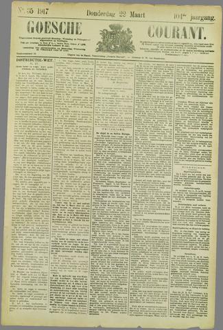 Goessche Courant 1917-03-22