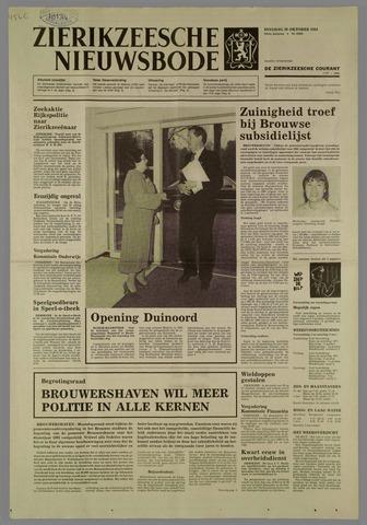 Zierikzeesche Nieuwsbode 1984-10-30