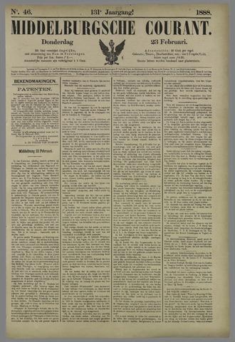 Middelburgsche Courant 1888-02-23