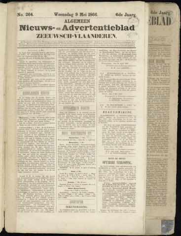Ter Neuzensche Courant. Algemeen Nieuws- en Advertentieblad voor Zeeuwsch-Vlaanderen / Neuzensche Courant ... (idem) / (Algemeen) nieuws en advertentieblad voor Zeeuwsch-Vlaanderen 1866-05-09