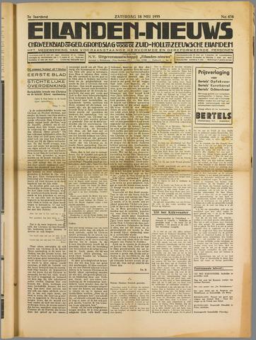 Eilanden-nieuws. Christelijk streekblad op gereformeerde grondslag 1935-05-18