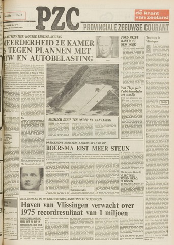Provinciale Zeeuwse Courant 1975-11-27