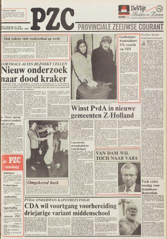 Provinciale Zeeuwse Courant 1985-11-28