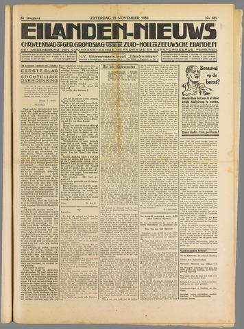 Eilanden-nieuws. Christelijk streekblad op gereformeerde grondslag 1935-11-23