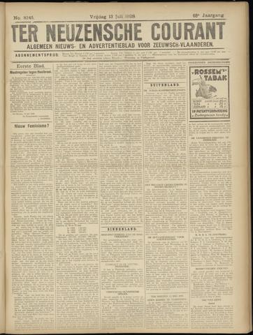 Ter Neuzensche Courant. Algemeen Nieuws- en Advertentieblad voor Zeeuwsch-Vlaanderen / Neuzensche Courant ... (idem) / (Algemeen) nieuws en advertentieblad voor Zeeuwsch-Vlaanderen 1928-07-13
