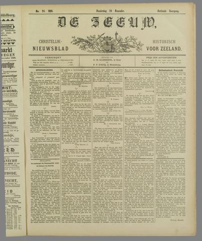 De Zeeuw. Christelijk-historisch nieuwsblad voor Zeeland 1898-11-24