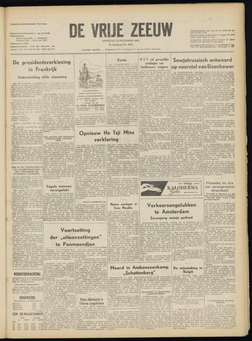 de Vrije Zeeuw 1953-12-22
