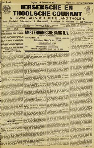 Ierseksche en Thoolsche Courant 1931-12-18