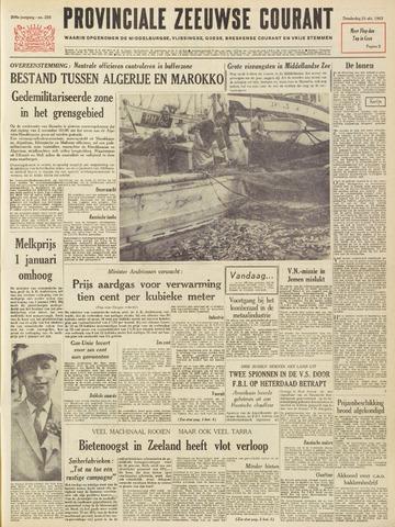 Provinciale Zeeuwse Courant 1963-10-31