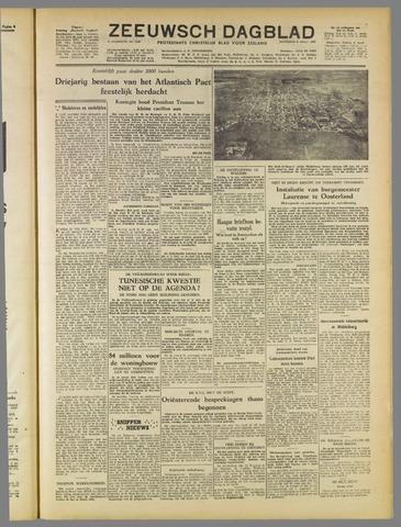 Zeeuwsch Dagblad 1952-04-05