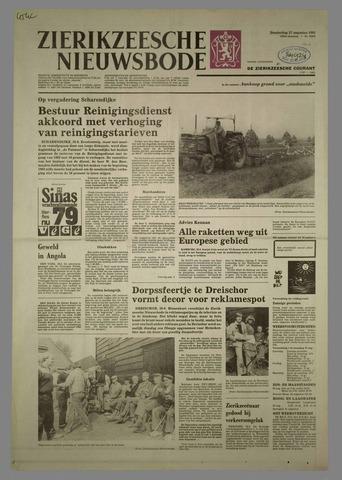 Zierikzeesche Nieuwsbode 1981-08-27