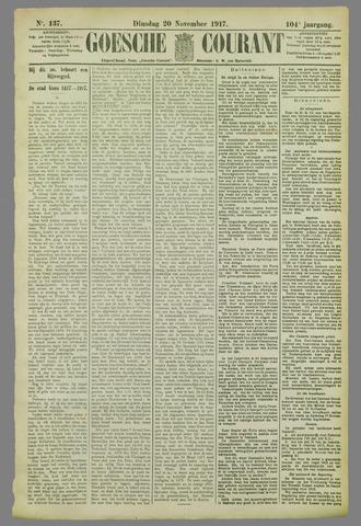 Goessche Courant 1917-11-20