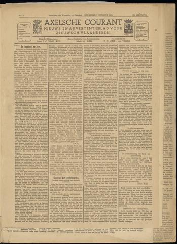 Axelsche Courant 1945-10-03