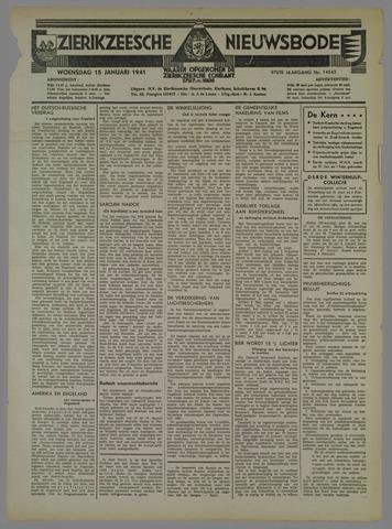 Zierikzeesche Nieuwsbode 1941-01-15
