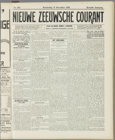 Nieuwe Zeeuwsche Courant 1911-12-21