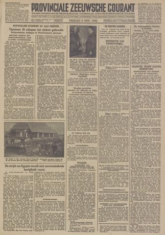 Provinciale Zeeuwse Courant 1942-11-06